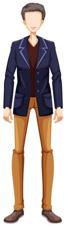 male model: Male model wearing jacket and pants