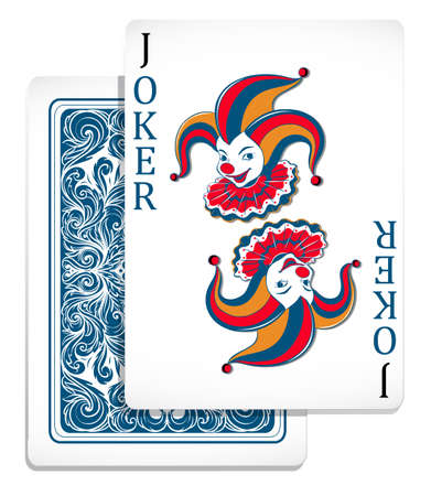 Joker original design card illustration