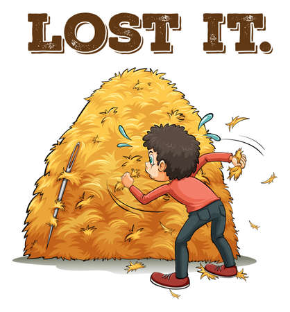 wordings: Poster of a saying Lost