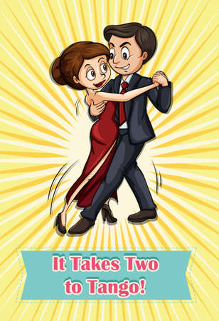 formal party: It takes two to tango