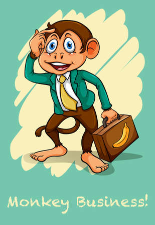idiom: English idiom saying monkey business