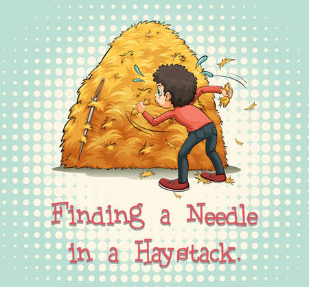 finding: Finding a needle in a haystack