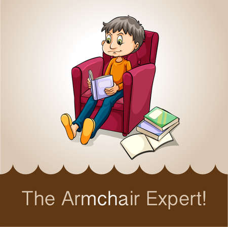 wordings: Flashcard of idioms The Illustration