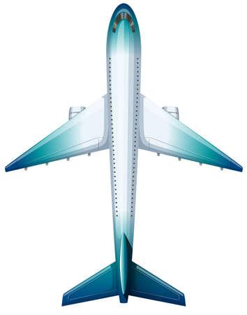 airforce: Modern design of aeroplane illustration
