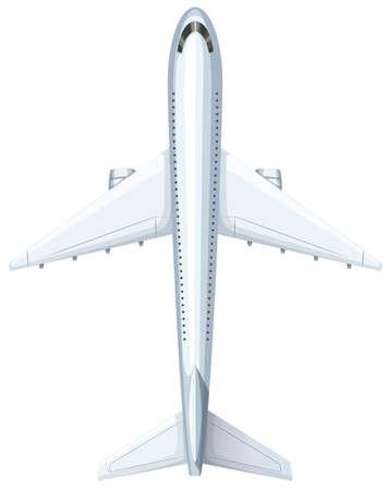 jet: Modern design of airplane illustration