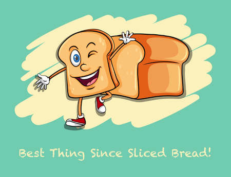 funny pictures: Best thing since sliced bread illustration