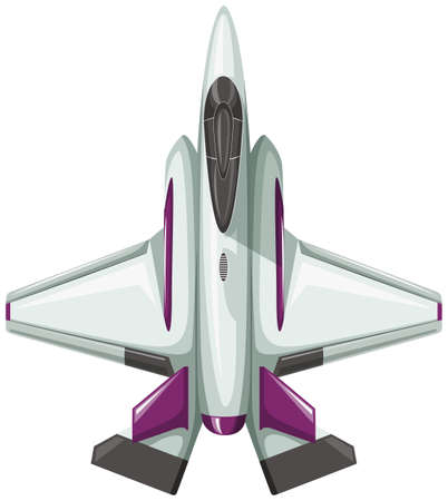 jumbo: Modern design of fighting jet illustration