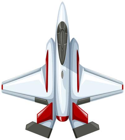jet: Modern design of fighting jet illustration