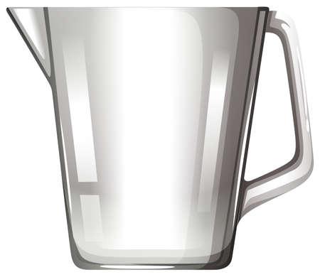 substances: Glass beaker with handle illustration