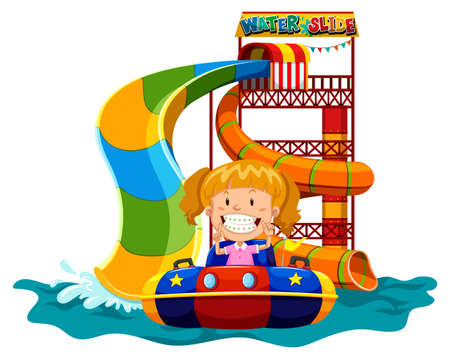 614 waterpark stock illustrations cliparts and royalty free rh 123rf com water slide clip art images Water Park Slides Clip Art