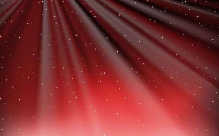 red sky: Background design with red sky illustration Illustration