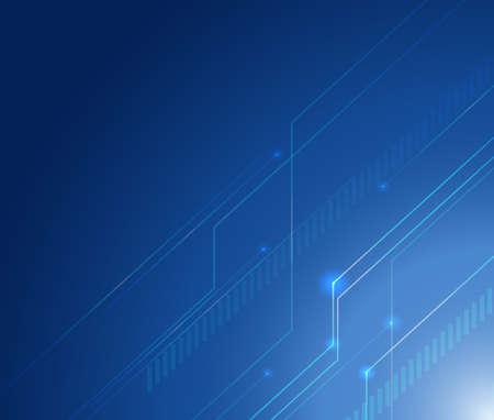 shinning light: Background design with lines on blue background illustration