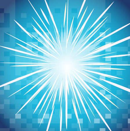 lucero: Diseño del fondo con ilustración brillante estrella Vectores