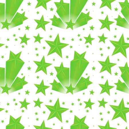 stars  background: Background design green stars illustration