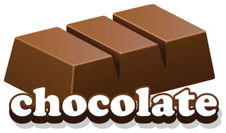 illustration: chocolate illustration