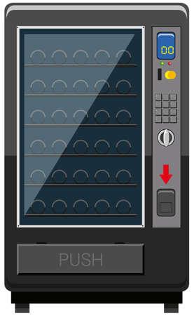Automaat zonder drankenillustratie