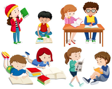 A Set of Good Students  illustration