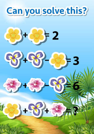 Can you solve this maths problem illustration