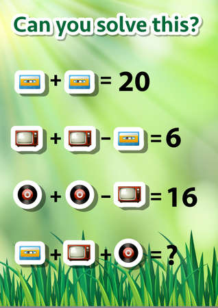 Can you solve this illustration Ilustrace