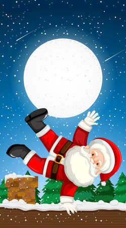Background templates with christmas theme illustration 向量圖像
