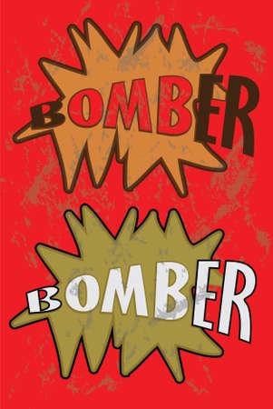 bomber: bomber Illustration