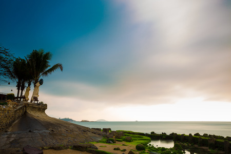 convective: Viet Nam Nha Trang beach scenery