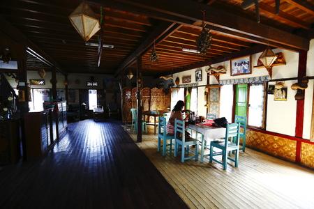inle: Myanmars Inle village residential Editorial