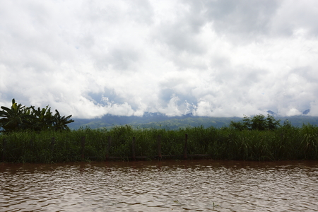inle: Myanmars Inle Lake water farmland