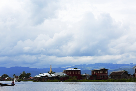 residence: Myanmars Inle Lake water residence