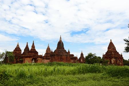 Bagan Burma country Temple Group
