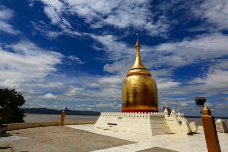 Burma Bagan pagoda Stock Photo