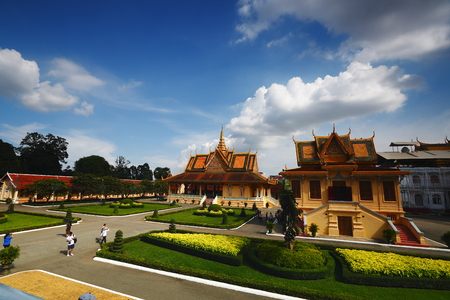 Phnom Penh, Kampuchea, The Grand Palace Editorial