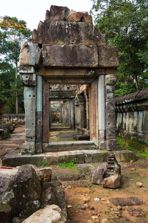 Kampuchea Siem Reap Takeo temple
