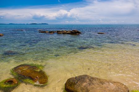 seawater: Sihanouk beach, Kampuchea