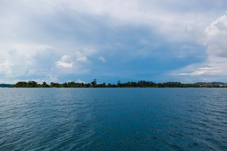 by cu: Kampuchea Si Hannu Cu sea scenery Stock Photo