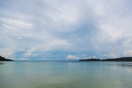 seawater: Kampuchea Sihanouk Salem high dragon island scenery