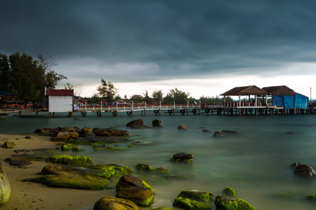 Kampuchea Sihanouk harbor scenery