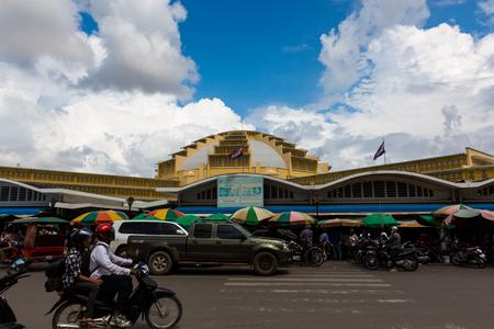 phnom penh: Phnom Penh Kampuchea central market Editorial
