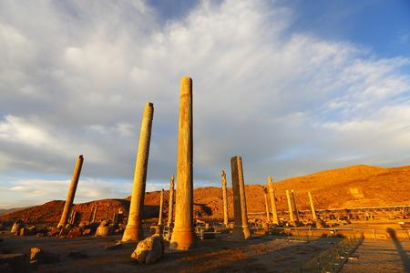 retained: Irán Persépolis punto escénico