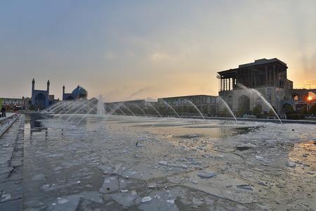 isfahan: Imam Plaza, Isfahan, Iran Editorial