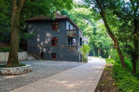 Old building, Wuhan University, Hubei Province 新聞圖片