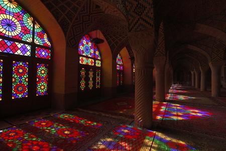 Iran pink mosque