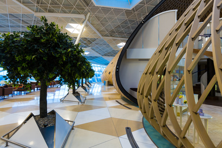 Azerbaijan capital Baku Lounge