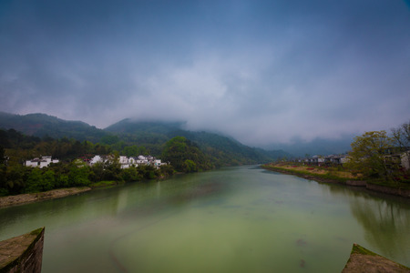 Huangshan City river scenery