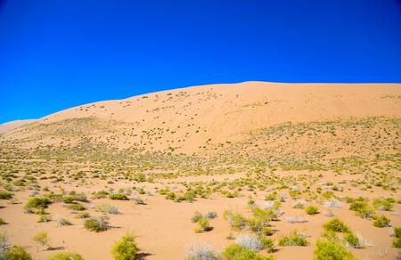 lack of water: Inner Mongolia China Badan Jilin desert scenery
