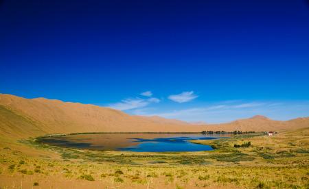 내몽골 중국 Badan Jilin 사막 경관