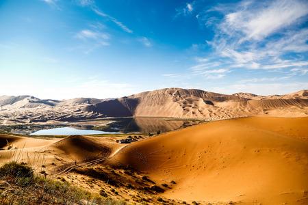 内蒙古自治区中国バダン吉林砂漠風景