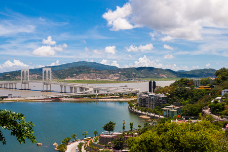 Urban scenery of Macao, China Stock Photo