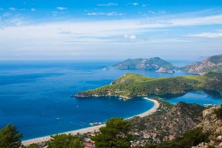 Turkey Fethiye Lycian scenery Stock Photo