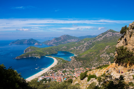 Turkey Fethiye Lycian scenery Stock Photo